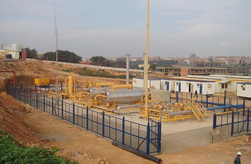 POSTE D'ALIMENTATION GAZ