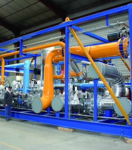 GAS TREATMENT SKID
