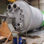 ALLIA // Manufacture of two Monel 400 reactors