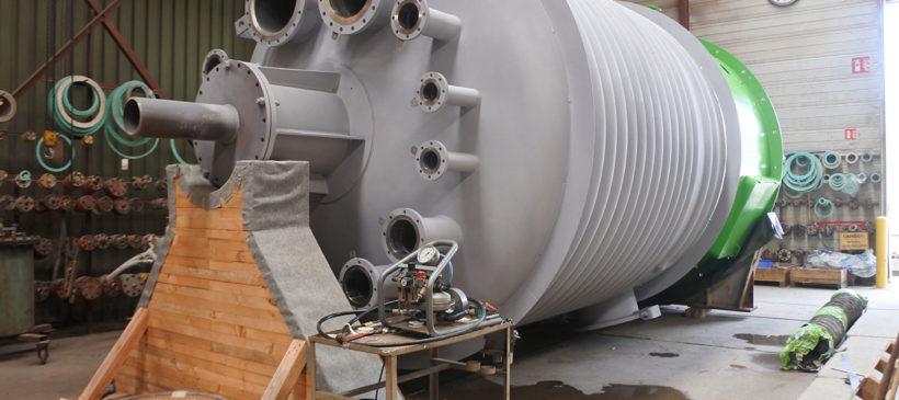 ALLIA // Réalisation de deux Réacteurs en MONEL 400